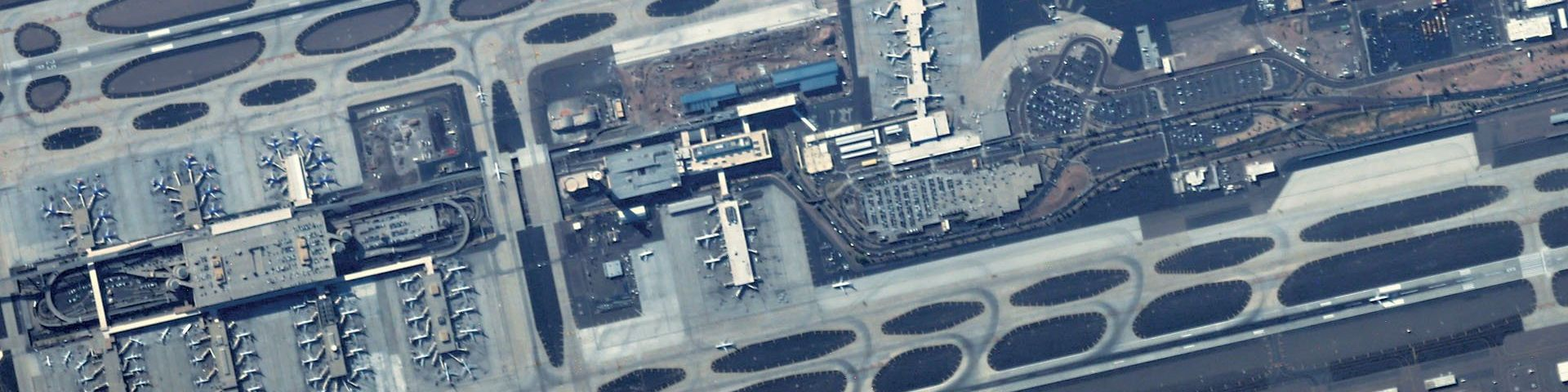 Image of the Phoenix Sky Harbor International Airport in Arizona USA taken by the CE-SAT-I satellite